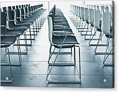 Conference Hall Acrylic Print by Tom Gowanlock