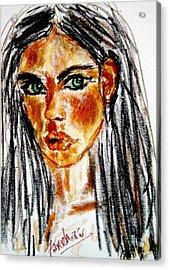 Confession  Acrylic Print