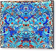 Confetti Dreams Acrylic Print