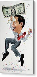 Confetti Man Acrylic Print by Denny Bond