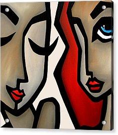 Confide Acrylic Print by Tom Fedro - Fidostudio