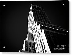 Acrylic Print featuring the photograph Conflict In The City by John Rizzuto