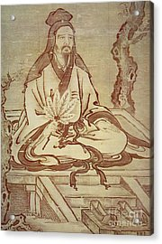 Confucius, Chinese Thinker And Social Philosopher  Acrylic Print