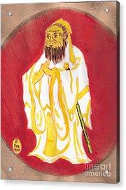 Confucius Wisdom Acrylic Print