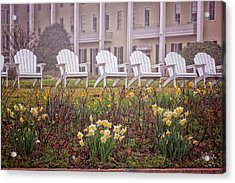 Congress Hall Spring Acrylic Print by Tom Singleton
