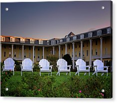 Acrylic Print featuring the photograph Congress Hall by Tom Singleton