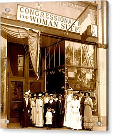Congressional Union For Woman Suffrage Colorado Headquarters 1914 Acrylic Print