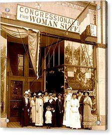 Congressional Union For Woman Suffrage Colorado Headquarters 1914 Acrylic Print