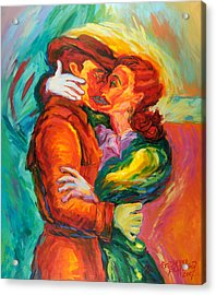 Conjoined Acrylic Print by Ekaterina  Prozheyko