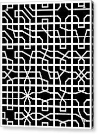 Connect - 24 Acrylic Print