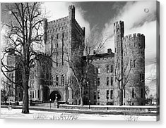 Acrylic Print featuring the photograph Connecticut Street Armory 3997b by Guy Whiteley