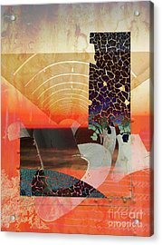Connections In Space Acrylic Print by Robert Ball