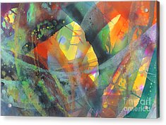 Connections Acrylic Print by Lucy Arnold