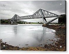 Connel Bridge Acrylic Print by Grant Glendinning