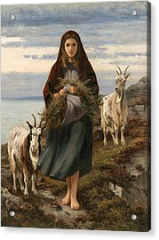 Connemara Girl Acrylic Print