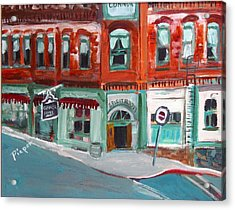 Connor Hotel In Jerome Acrylic Print