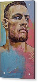 Conor Acrylic Print by Michael Creese