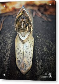 Acrylic Print featuring the photograph Conquistador Hood Ornament by Terry Rowe