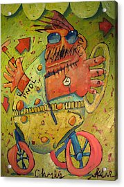 Conscientious Perambulator Acrylic Print by Charlie Spear