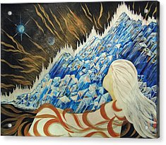 Conscious Dream Acrylic Print by Pam Ellis