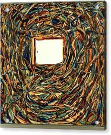 Consciousness Screen Acrylic Print