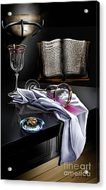 Consecrated Acrylic Print by Reggie Duffie