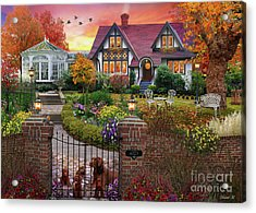 Conservatory House  Acrylic Print by MGL Meiklejohn Graphics Licensing