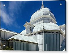 Conservatory Of Flowers Detail Acrylic Print