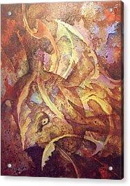 Consilium Dolosus Acrylic Print by Fred Wellner