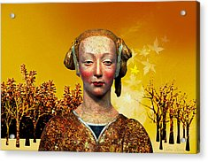 Constance  Acrylic Print by Sabine Stetson