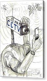 Constant Super Vision Acrylic Print by Robert Wolverton Jr