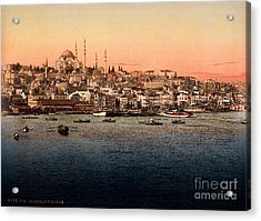 Constantinople Acrylic Print by Celestial Images