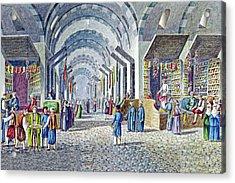 Constantinople Indoor Bazaar Acrylic Print by Munir Alawi