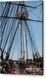 Constitution's Deck Acrylic Print