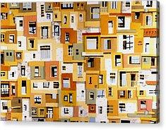 Construction 30 Acrylic Print by Ashley Lathe