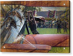 Acrylic Print featuring the photograph Contact by James Barber
