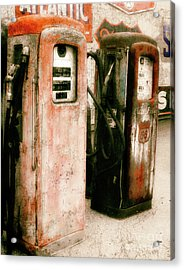 Contains Lead  Acrylic Print by Steven Digman