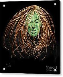 Contemplate Acrylic Print by Adam Long