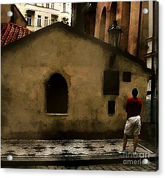 Contemplating Antiquity Acrylic Print by RC DeWinter
