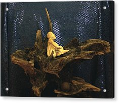 Acrylic Print featuring the photograph Contemplation by Carolyn Cable