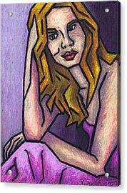 Contemplation Acrylic Print by Kamil Swiatek