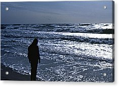 Contemplation Acrylic Print by Lori Miller