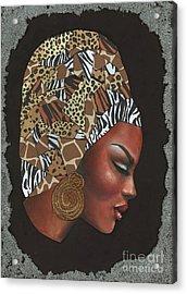Contemplation Too Acrylic Print by Alga Washington