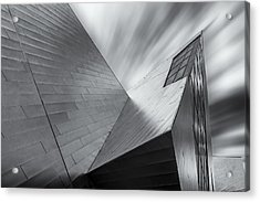 Acrylic Print featuring the photograph Contemporary Architecture Of The Shops At Crystals, Aria, Las Ve by Adam Romanowicz