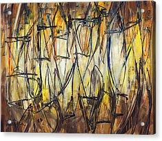 Contemporary Art Three Acrylic Print