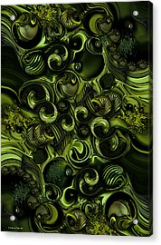 Context Of Dreams - Vegetable Acrylic Print by Carmen Fine Art