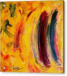 Contradiction  Acrylic Print by Fareeha Khawaja