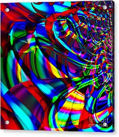 Contradictions . S14.s15 Acrylic Print by Wingsdomain Art and Photography