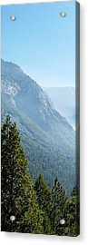 1 Of 4 Controlled Burn Of Yosemite Section Acrylic Print