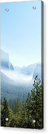 2 Of 4 Controlled Burn Of Yosemite Section Acrylic Print